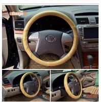Car Steering Wheel Protector Waterproof PU Leather Steering Wheel Covers for Lots of Cars Durable
