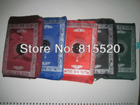2013 new Hot sales muslim pocket prayer mat with compass   170pcs /lots