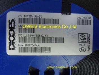 100pcs  AP2280   AP2280-1FMG   AP2280-1FMG-7   QFN   DIODES  100% new    Free shipping!