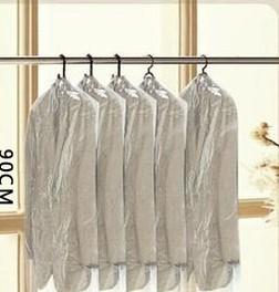 Transparent dust bag suit disposable dust cover clothes cover suit dust cover clothing cover