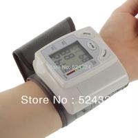 Sphygmomanometer Wrist Blood Pressure Monitor Arm Meter Pulse free shipping
