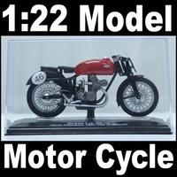 NEW 1:22 Motor Cycle model motorcycle GILERA World Champion 1950 (rider U. Masetti) Diecast Model In Box Bike