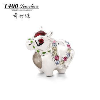 день t400 бисера 925 чистого серебра знаки diycharm матери подарок скота Q100 $16.94 бисер - yyw.
