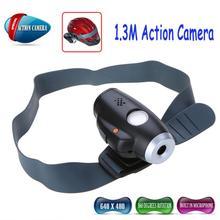 cool Aussehen Outdoor-Sportarten helm aktion kamera videorecorder fahrradhelm camcorder 1.3m cmos versandkostenfrei(China (Mainland))
