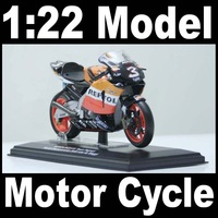 NEW 1:22 Motor Cycle model motorcycle HONDA RC211V World Champion 2005 (raider M. Biaggi) Diecast Model In Box Bike
