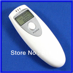 Free Shipping New Digital Breath Alcohol Tester Analyzer Breathalyser(China (Mainland))