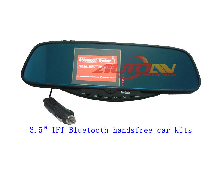 Windstone Brand Car Rear Mirror with 3.5inch TFT LCD monitor BT728(China (Mainland))
