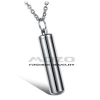 Wholesale 2014 New HOT SALE Fashion Jewelry Keepsake bottle chain Women's/Men's Stainless steel  Necklaces for women/men TY824