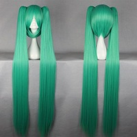 cosplay anime hatsune miku VOCALOID2 the carnival Green wig 110cm