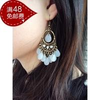 T-1036 accessories bohemia vintage drop earrings ear hook fashion female