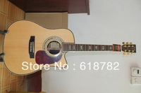 wholesale new style CF  D45S Cream-colored Acoustic Guitar with Fisherman pick-up with hardshell case Free shipping HOT
