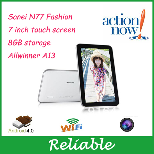 china cheap 7 inch android 4.0 shenzhen technology tablet pc wifi front camera allwinner a13 1ghz(China (Mainland))