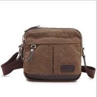 shoulder  canvas  messenger bag  casual man handbags free shipping