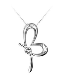 925 pure silver necklace pendant silver necklace pendant birthday gift