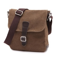 Small wooden bench brief man   casual  shoulder  bag  free shipping!!!