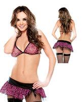 Sexy Crotchless Panties Exotic Gogo Bra Cheap Women Sexy Pink Dress  Women Yk656