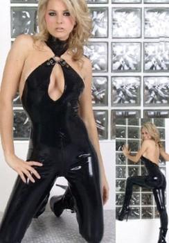Sexy  Uniform Paint With Elastic Jumpsuits Blasting Milk Taste Jumpsuits Evening DS Club Evening Costumes YK657