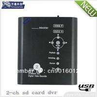 2 ch Car DVR/motion detection/ take photos selectable/ low power consumption car dvr