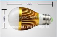 Wholesale - free bubble bulb AC85-265V 9W E27 High Power Earth bulb LED bulb light