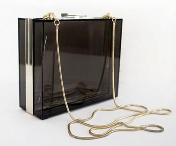 2013 Fashion Transparent Acrylic Neon Clutch Bag Evening Bag Party Bag S20106
