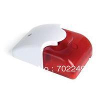 Free shipping Sale Outdoor use 12V or 24V external siren with strobe light warner