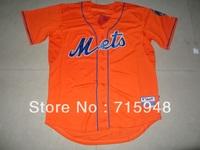 2013  New Baseball Jerseys New York Mets Blank Jersey New Orange Cool Base Jersey Stitched Size 48-56 Mix Order