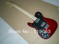 f Left-handed red Electric guitar with in stock free shipping