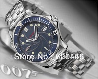 brand high quality gift watches! Men's luxury automatic sports fashion dress business stainless steel mens watch 007