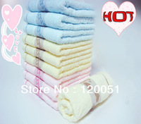 100% Cotton LOVE couple household travel Cleansing Towel 3PCS/LOT Pink Yellow Blue SIZE 29X13.4 INCH Free Shipping