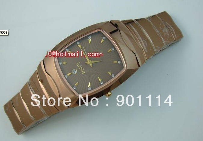 4th yer seller, Tungsten Steel +SAPPHIRE, Men's, Quartz, Gold. Men's watch(China (Mainland))