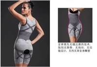 Free shipping by DHL +Magic shapers underwear gen bamboo charcoal slimming suits Pants Bra Bodysuit Body Shaping clothing