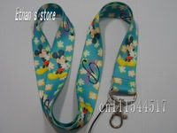 Free Shipping Kids Mickey Mouse  cartoon neck lanyard for party/school