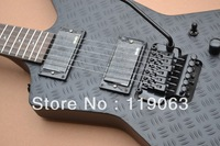 New Arrival Custom ESP Floyd rose Explorer Black Electric Guitar Wholesale Guitars In Stock Free Shipping