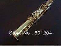 Soprano saxophone B flat Gold Plated Brass materials