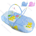 New baby mosquito net bed Cotton Cushion Baby Tent Foldable Portable Safety Multi-Function net Blue Pink 13626(China (Mainland))