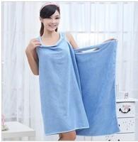 Bath Towel Ladies' Magic Towel Microfiber Fabric Creative Variety Magic140*70cm Free Shipping