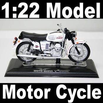 NEW 1:22 Motor Cycle model motorcycle MOTO GUZZI V7 Speical Diecast Model In Box Bike