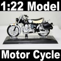 NEW 1:22 Motor Cycle model motorcycle MOTO GU ZZI California 850V Diecast Model In Box Bike