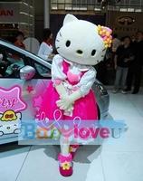 Brand New Hello kitty Mascot costume Fancy Dress Adult size Halloween
