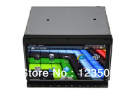 New !!! 7Inch double din Car DVD Player built-in GPS/Radio /Ipod function/4GB Map card