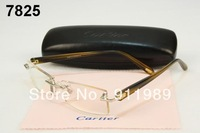wholesale Good Quality New brand eyewear optical frame eyeglass FREE SHIP hingless RIMLESS metal men glasses Wholesale/ Retail