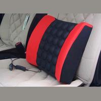 High elastic cotton car lumbar support lumbar pillow tournure 12v electric massage health care pillow cushion