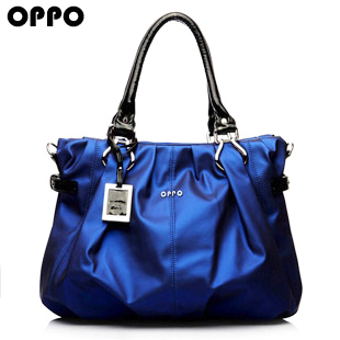 Hot Color Blue Popular Ladies Bags Hi Quality Women's Bag OPPO Fashion Shoulder Bag Fresh Design Elegant Handbag Soft PU Leather