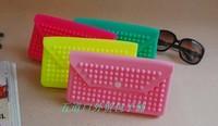 Jelly female wallet neon