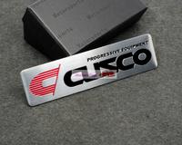 50pcs 50/lot CUSCO Emblems Badge Motor Sport Racing Sticker Rear For Subaru mitsubishi Free Shipping High Quality Wholesale