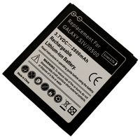 Cheap Sale! High Capacity 2800mAh 3.7V Li-ion Battery For Samsung Galaxy S4 I9500, Free Shipping + Retail!