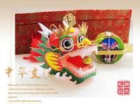 Free shipping Chinese kite dragon beijing opera kite for gift