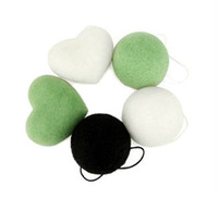 3 pieces/lot  100% Natural bath and facial wash cleaning Konjac Sponge free shipping   xl001
