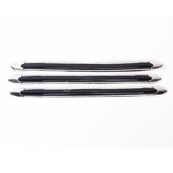 Free Shipping 4 Pcs Black Cars Car Bumper Guard Protectors 40cm