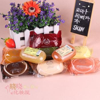The body shop tbs coconut papaya mango natural handmade soap body soap 100g